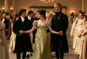 Jane's ball gown in Becoming Jane.