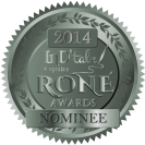 2014 InD'tale Magazine's RONE Award Nominee badge